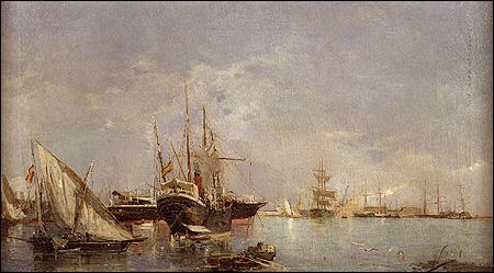 Embarcaciones españolas (mediados siglo XIX)